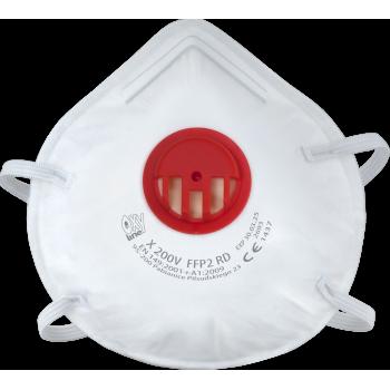 Respiratorius su vožtuvu X200V FFP2 RD