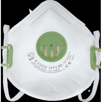 Respiratorius su vožtuvu X310SV FFP3 RD