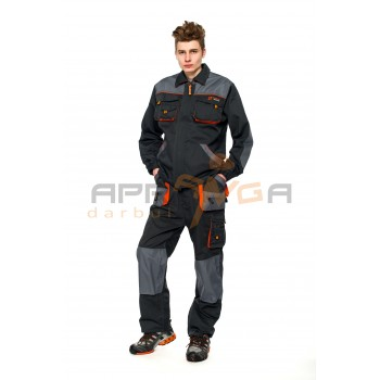 Darbo kostiumas PRESTIGE, pilkas