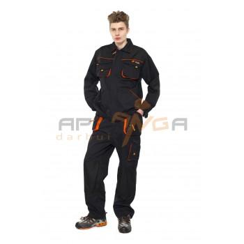 Darbo kostiumas PRESTIGE, juodas