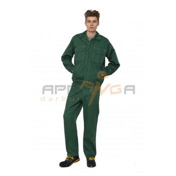 Darbo kostiumas RESPECT, žalias