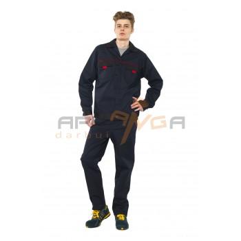 Darbo kostiumas MECHANIC, tamsiai mėlynas
