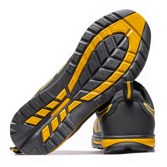 Darbiniai batai BOLT S1P, geltoni Pusbačiai