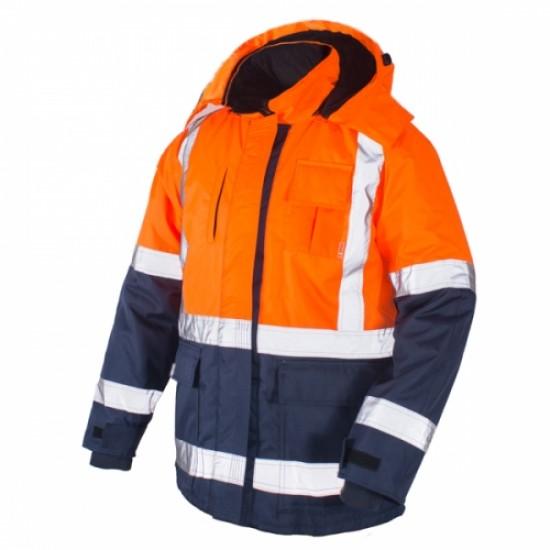 Striukė šilta BRIGHTGO NEW geltona, oranžinė Signaliniai drabužiai