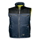 Liemenė dvipusė, pašiltinta CAPRICORNO geltona/mėlyna Signaliniai drabužiai