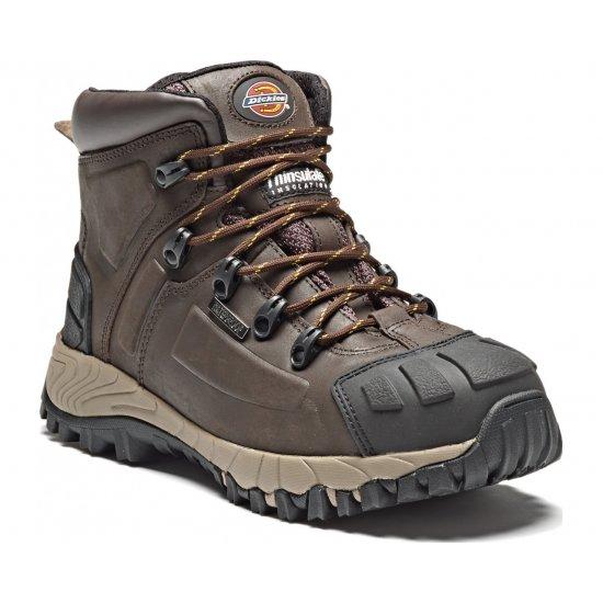 Darbiniai batai su auliuku DICKIES FD23310 S3 WR HRO SRA Auliniai batai