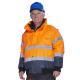 Striukė šilta KARDIF  HI-VIS geltona,  oranžinė Signaliniai drabužiai