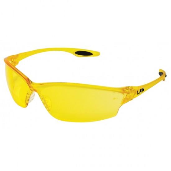 Apsauginiai akiniai MCR LAWY, geltoni Akiniai