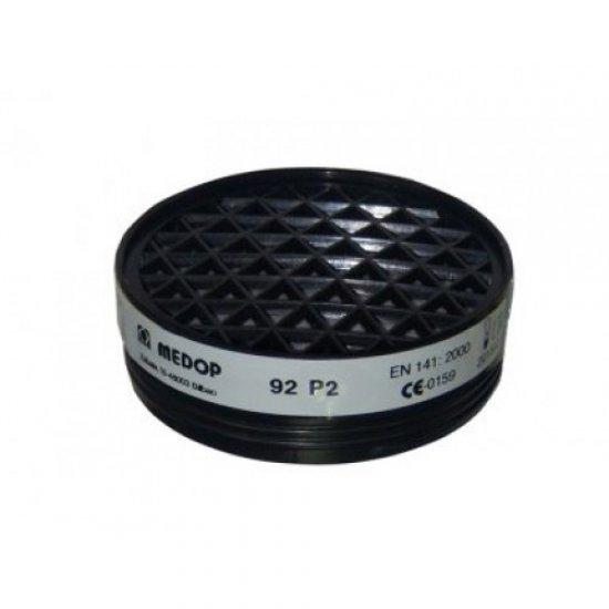 Apsauginis filtras P2 (puskaukėms MASK II PLUS, MASK I PLUS) Filtrai
