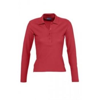 Polo marškinėliai ilgomis rankovėmis PODIUM 210 mot.