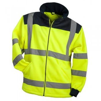 Šviesą atspindintis džemperis POLAR HI-VIS geltonas, oranžinis
