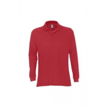 Polo marškinėliai ilgomis rankovėmis STAR 170 vyr.